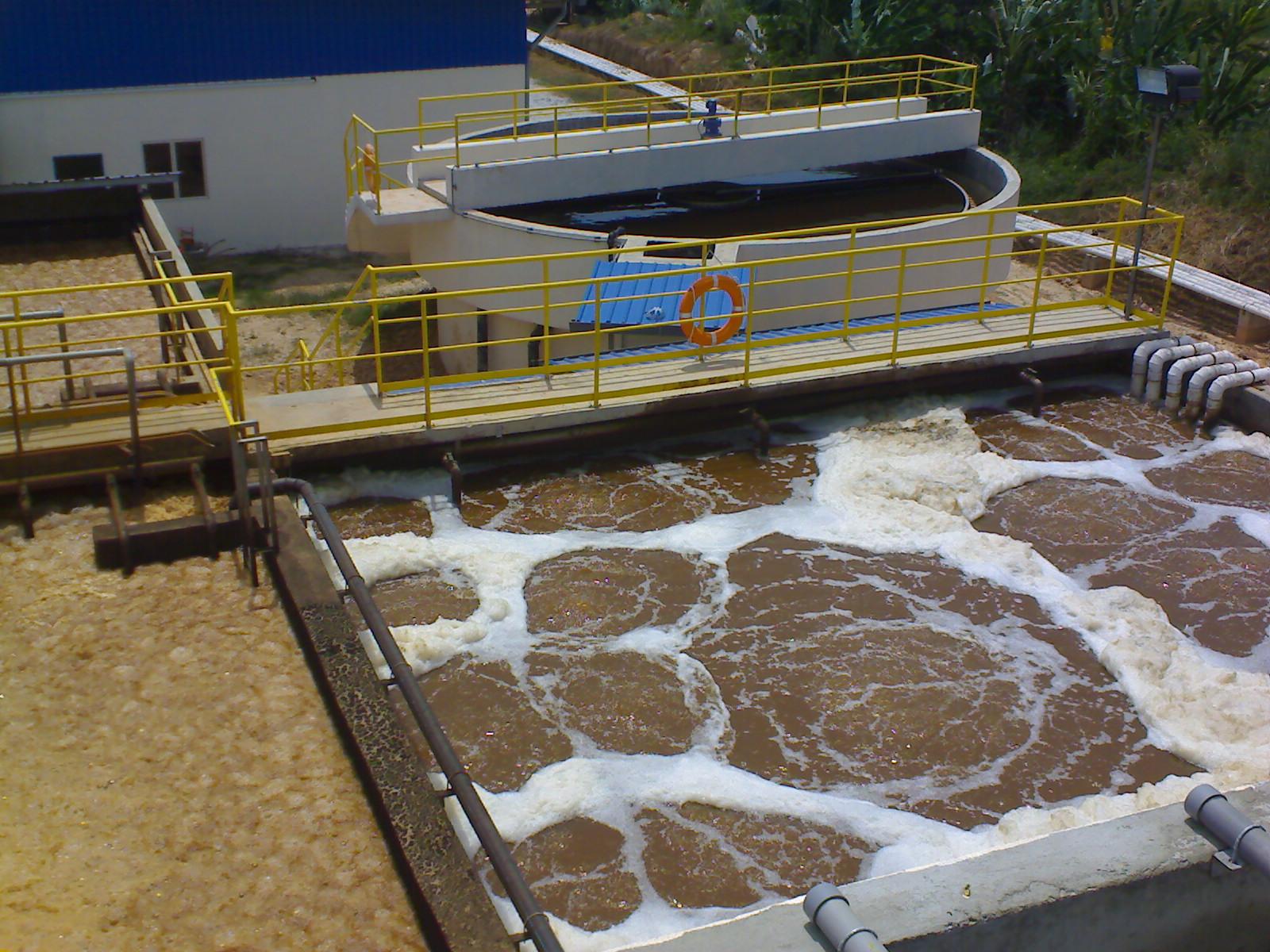 Kualiti Alam Sdn Bhd Leachate Treatment Plant Cge